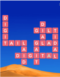 Wordscapes Sand 5 Level 789 answers