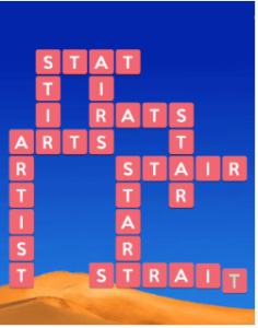Wordscapes Sand 6 Level 790 answers