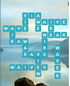 Wordscapes Serene 13 Level 1005 answers
