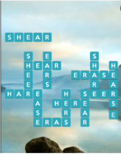 Wordscapes Serene 16 Level 1008 answers