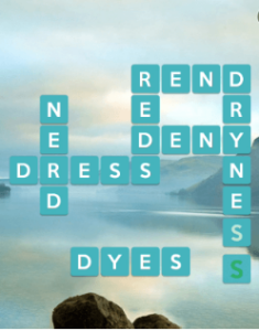 Wordscapes Serene 2 Level 994 answers