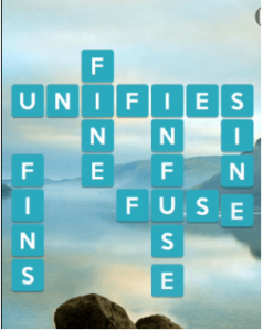 Wordscapes Serene 8 Level 1000 answers