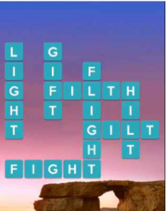 Wordscapes Serene 9 Level 1961 answers