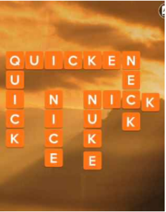 Wordscapes Sky 10 Level 2586 answers