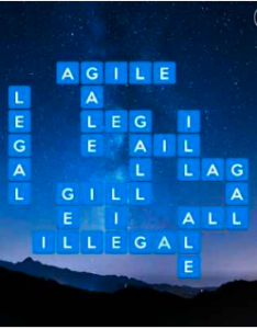 Wordscapes Sky 2 Level 3474 answers