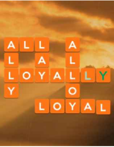 Wordscapes Sky 3 Level 2579 answers