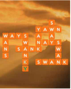 Wordscapes Sky 4 Level 2580 answers