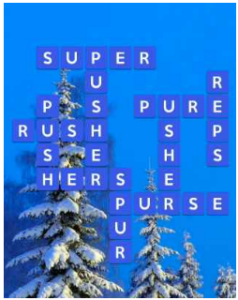 Wordscapes Snow 1 Level 2865 answers