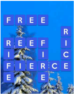 Wordscapes Snow 13 Level 2877 answers