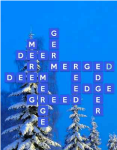 Wordscapes Snow 9 Level 2873 answers