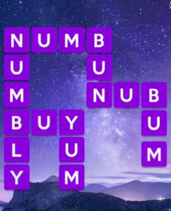 Wordscapes Space 11 Level 5035 Answers