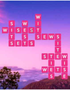 Wordscapes Still 7 Level 3543 answers