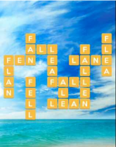 Wordscapes Tide 10 Level 4138 answers