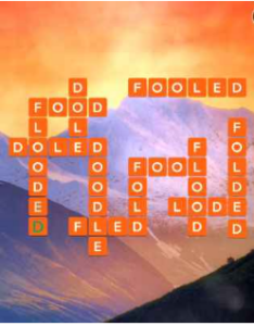 Wordscapes Valley 16 Level 2576 answers