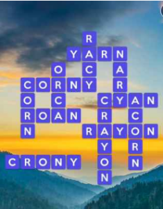 Wordscapes Valley 4 Level 2724 answers