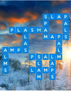 Wordscapes Valley 5 Level 1621 answers