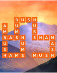 Wordscapes Valley 5 Level 2565 answers