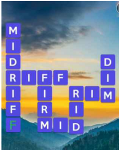 Wordscapes Valley 5 Level 2725 answers