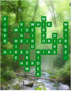 Wordscapes Verde 04 Level 4708 Answers
