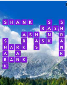 Wordscapes View 1 Level 1745 answers