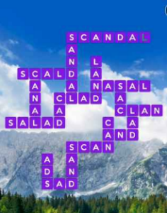 Wordscapes View 14 Level 1758 answers