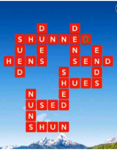 Wordscapes View 15 Level 3295 answers