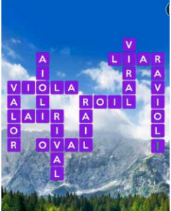 Wordscapes View 16 Level 1760 answers