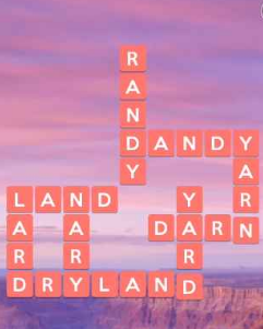 Wordscapes Warm 6 Level 4790 Answers