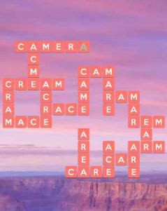 Wordscapes Warm 8 Level 4792 Answers