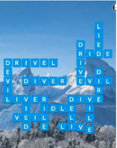 Wordscapes White 7 Level 1607 answers