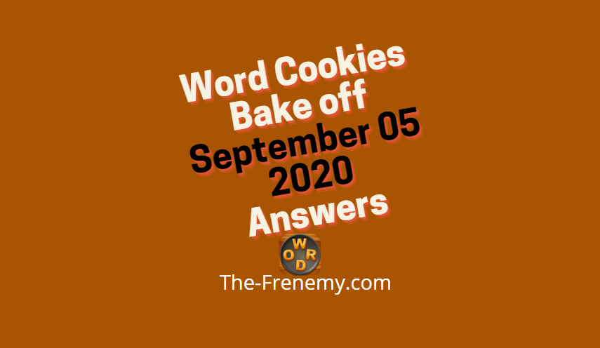 word cookies bakeoff september 5 2020 answers