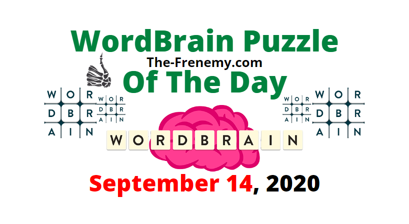 wordbrain puzzle of the day september 14 2020 answers