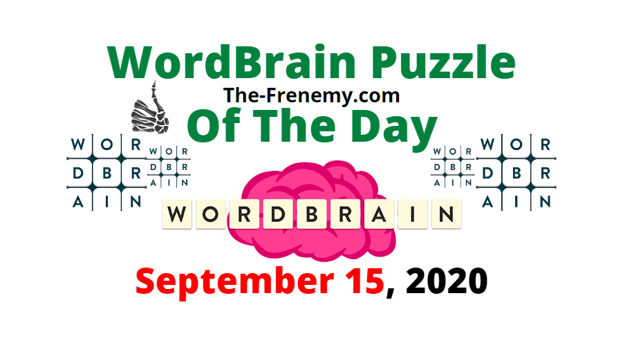 wordbrain puzzle of the day september 15 2020 answers