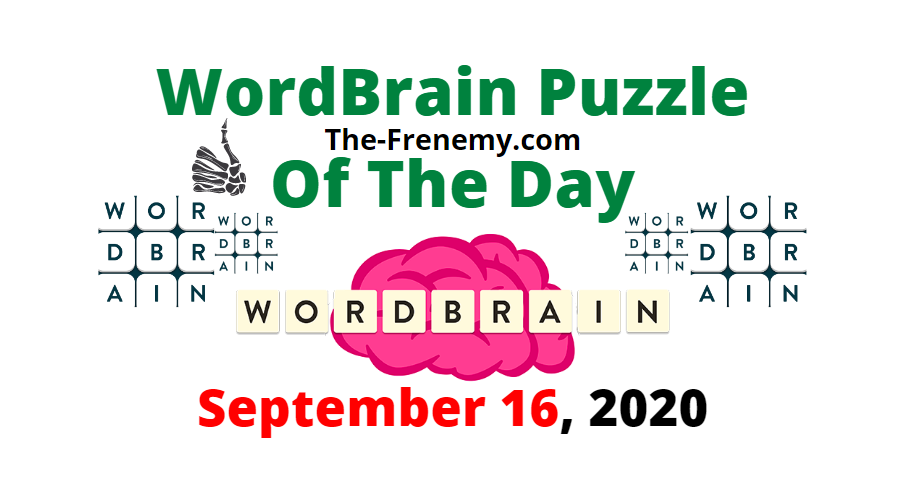 wordbrain puzzle of the day september 16 2020 answers