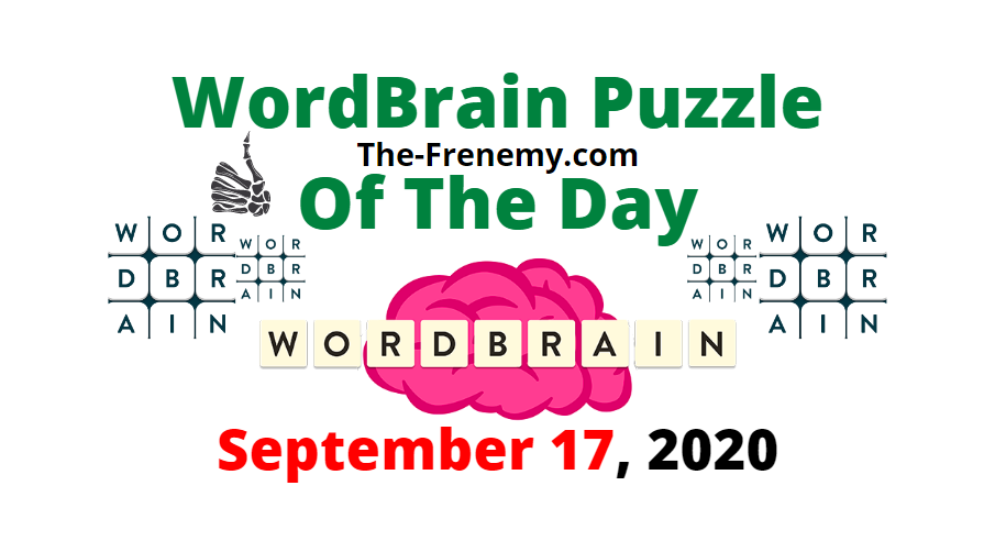 wordbrain puzzle of the day september 17 2020 answers