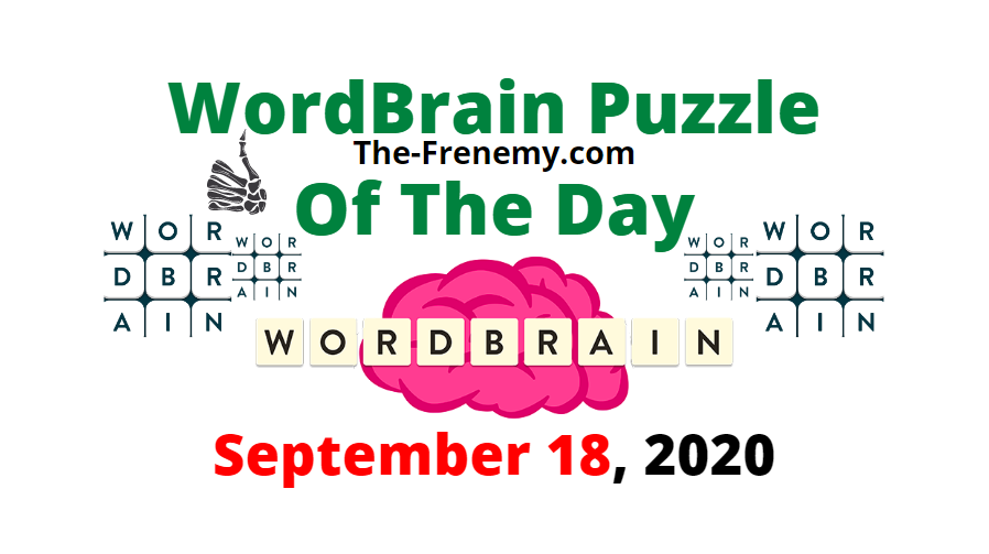 wordbrain puzzle of the day september 18 2020 Answers