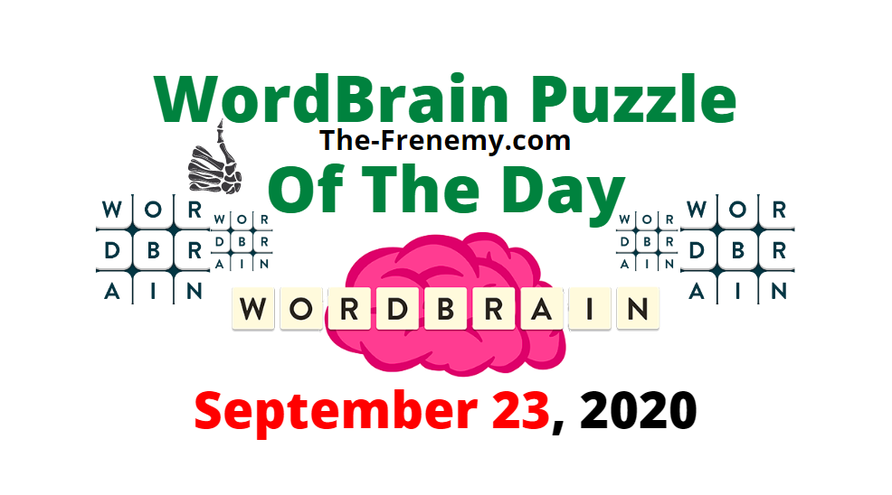 wordbrain puzzle of the day september 23 2020 answers