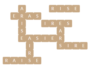 WOrdscapes Ripple 9 Level 13577 Answers