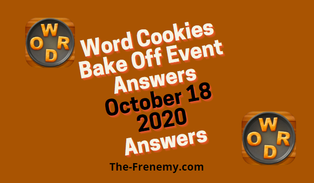 Word Cookies Bake Off October 24 2020 Answers