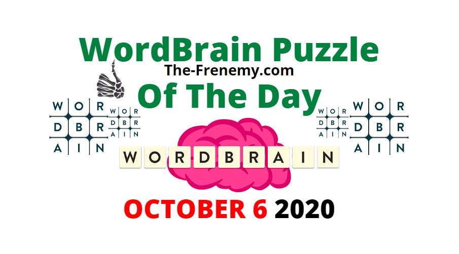 Wordbrain Puzzle of the Day October 6 2020 Answers