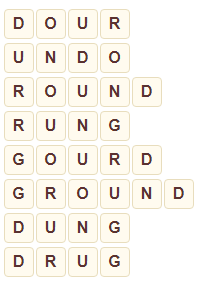 Wordscapes Above 13 level 7853 answers