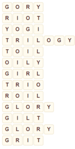 Wordscapes Arid 14 level 8094 answers