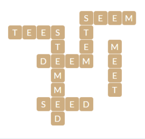 Wordscapes Beach 10 Level 11018 Answer