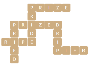 Wordscapes Beach 9 level 13081 answers
