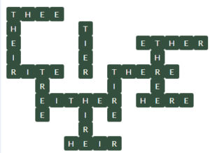 Wordscapes Below 1 Level 11457 Answers