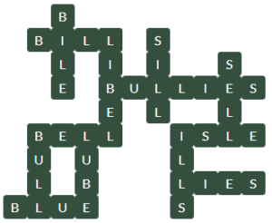 Wordscapes Below 12 Level 11468 Answers