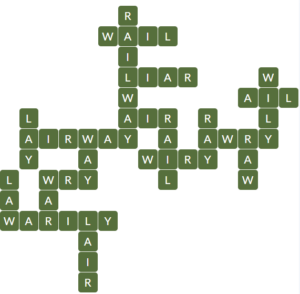 Wordscapes Brook 9 Level 14793 Answers