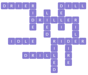 Wordscapes Chill 10 level 19834 answers