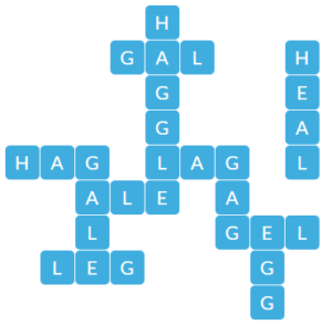 Wordscapes Clear 4 level 19012 answers