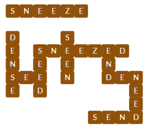 Wordscapes Cover 3 level 13427 Answers